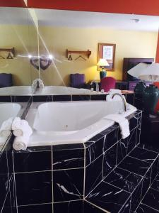 A bathroom at Super Inn