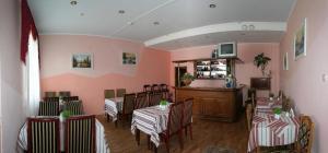 The lobby or reception area at Morozko