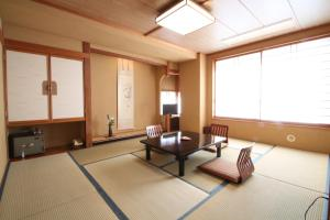 A seating area at Suminoyu