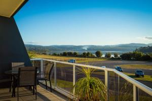 A balcony or terrace at Waterview Luxury Apartments
