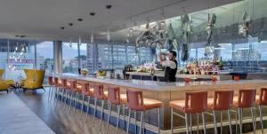The lounge or bar area at The Art Hotel Denver, Curio Collection by Hilton