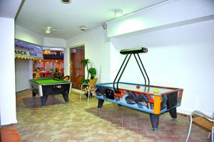A pool table at Panorama Hotel Apartments