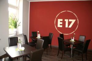 Ein Restaurant oder anderes Speiselokal in der Unterkunft Energie17