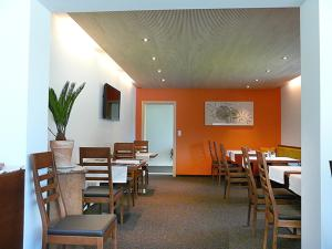 A restaurant or other place to eat at Hotel Garni Madrisa