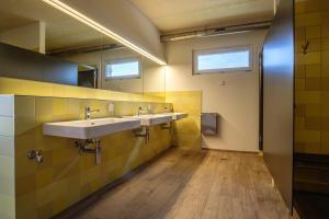 Ein Badezimmer in der Unterkunft Camping & Restaurant Wagenhausen bei Stein am Rhein