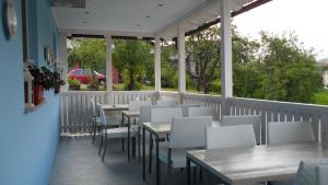 Restavracija oz. druge možnosti za prehrano v nastanitvi The Blue House