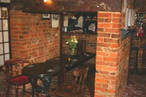 The lounge or bar area at Farmhouse Inn