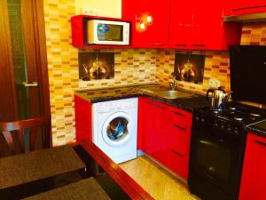 A kitchen or kitchenette at VIP apartment