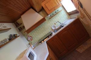 Cucina o angolo cottura di Villa Egle