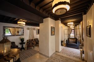 A seating area at Riad Kheirredine