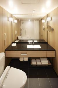 Kamar mandi di Hilton Tokyo Bay