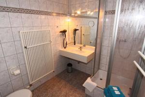 Ein Badezimmer in der Unterkunft Hotel Wenzels Hof