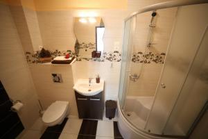 Łazienka w obiekcie Willa Podzamcze
