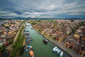 Blick auf The Village Homestay aus der Vogelperspektive