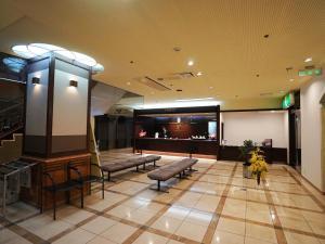 The lobby or reception area at Neyagawa Trend Hotel