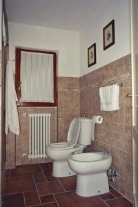A bathroom at B&B A Casa Dell'Iside