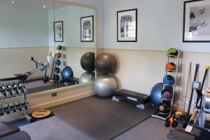 The fitness centre and/or fitness facilities at Luton Hoo Hotel, Golf and Spa