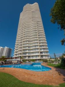 The swimming pool at or near Burleigh Surf Apartments