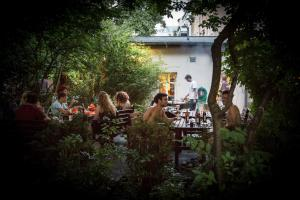 A restaurant or other place to eat at EastSeven Berlin
