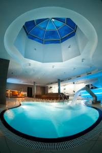 The swimming pool at or near Hotel Štekl