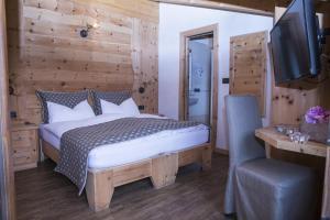 Postel nebo postele na pokoji v ubytování B&B The King