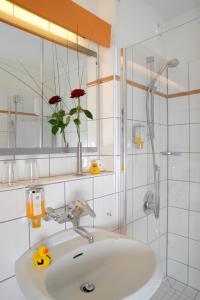 Ein Badezimmer in der Unterkunft Best Western Hotel Der Föhrenhof