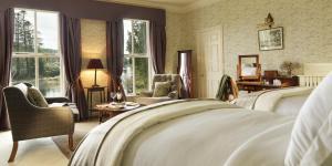 Area soggiorno di Ballynahinch Castle Hotel