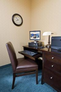 A television and/or entertainment center at Residence Inn by Marriott Cedar Rapids