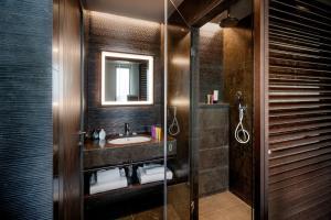 A bathroom at Glam Milano