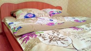 Кровать или кровати в номере Apartment Fusion