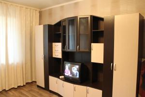 Телевизор и/или развлекательный центр в Malaya Samara Apartment