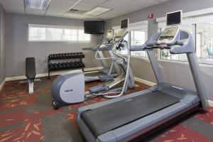 The fitness center and/or fitness facilities at Residence Inn Canton