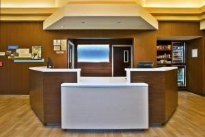 The lobby or reception area at Fairfield Inn & Suites Chicago Midway Airport