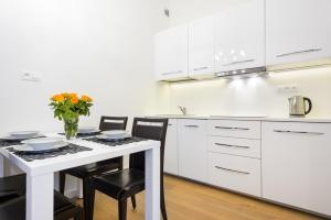 Kuchnia lub aneks kuchenny w obiekcie Apartament Tenczyńska