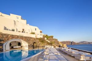 The swimming pool at or near Canaves Oia Suites & Spa