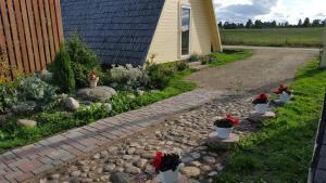 A garden outside Cielavas Ligzda