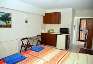 Кухня или мини-кухня в Tsolakis Flats