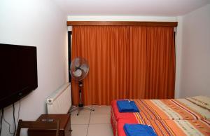 Телевизор и/или развлекательный центр в Tsolakis Flats
