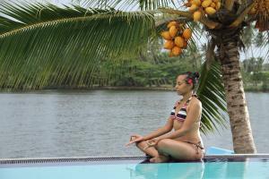 The swimming pool at or close to Laluna Ayurveda Resort