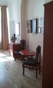 A television and/or entertainment center at Pension Karlova