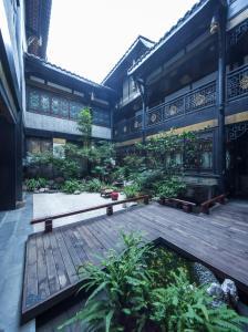The swimming pool at or near Buddha Zen Hotel