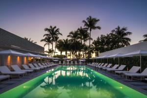 The swimming pool at or near COMO Metropolitan Miami Beach