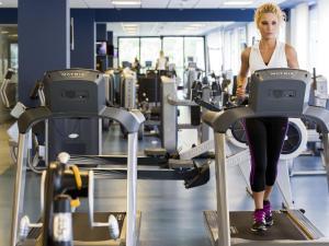 Gimnasio o instalaciones de fitness de Gran Hotel Las Caldas Wellness Clinic