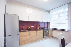 Virtuvė arba virtuvėlė apgyvendinimo įstaigoje Familion ApartHotel