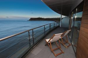 A balcony or terrace at The Sands