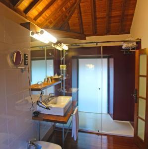 Un baño de Hotel Rural El Mondalón