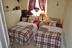 Кровать или кровати в номере The Stags Head Inn