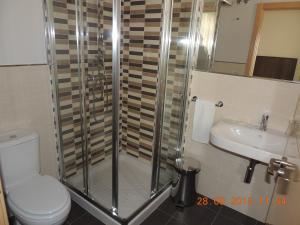 A bathroom at Pension El Mosquito