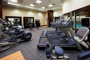 The fitness center and/or fitness facilities at Embassy Suites Denver - Downtown/Convention Center