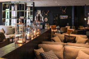 Majoituspaikan Lapland Hotels Tampere baari tai lounge-tila